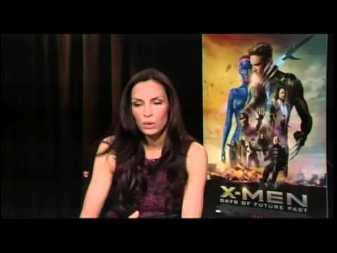 "Famke Janssen Talks About ""X-Men: Days of Future Past"" and What She Knows About ""X-Men: Apocalypse"""