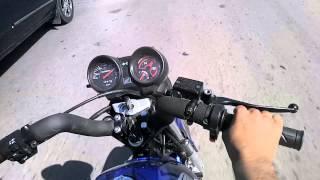 Honda Titan Al Corte Tirando Explosiones