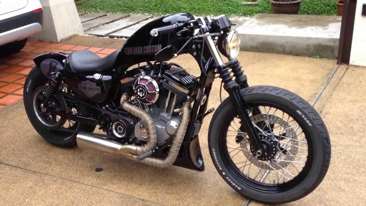 Harley Sportster Nightster - Team Dark Custom - YouTube