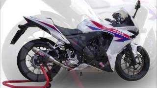 HONDA CBR 500 R 2013 SCARICO GPR VIDEO CATALOGO GPR VIDEO