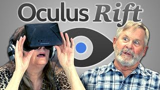 Elders React to the Oculus Rift 3D Virtual Reality Headset
