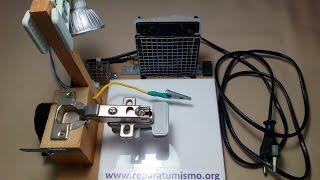 Electrónica - estación de trabajo casera