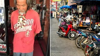 This Scruffy Dude Was Turned Away From Motorbike Stores – But One Kind Guy Got A Stunning Reward