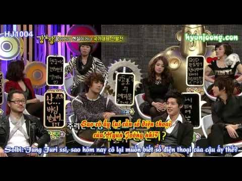 [Vietsub] 15.12.09 Strong Heart Ep11 Part 1 Xmas Special 1/4