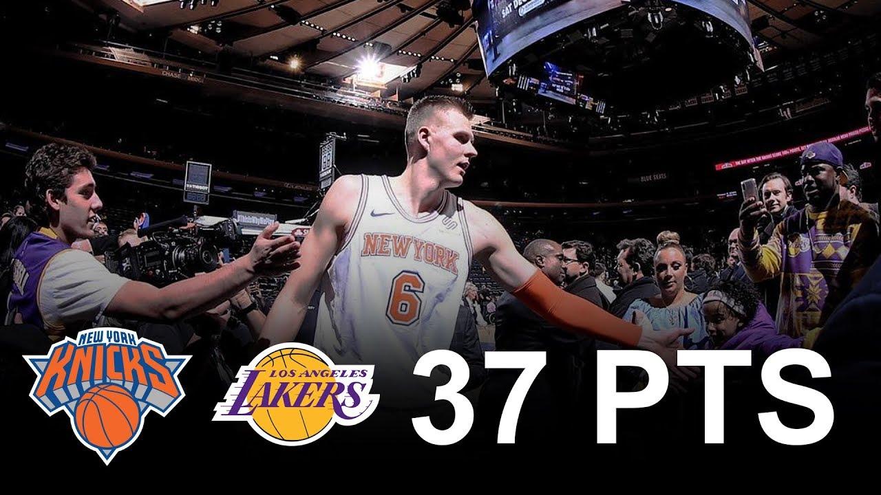 時代已變!Kristaps Porzingis 打出 NBA 歷史首見的數據