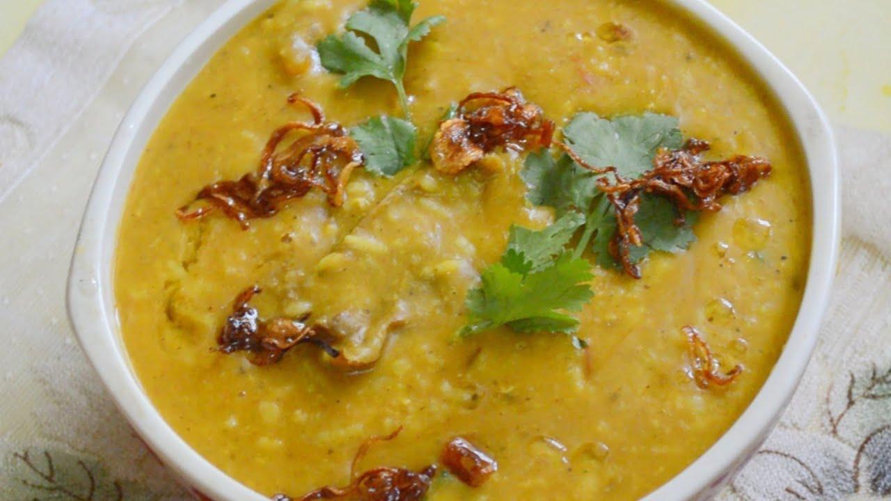gosht khichda haleem recipe by chef shaheen youtube