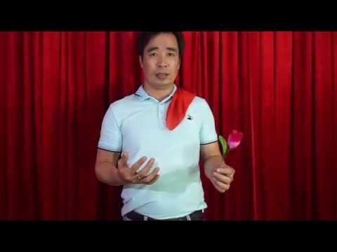 Hướng dẫn làm ảo thuật cua gái - Biến ra bông hồng