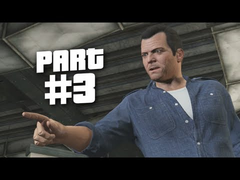 Grand Theft Auto 5 Gameplay Walkthrough Part 3 - Tennis (GTA 5)