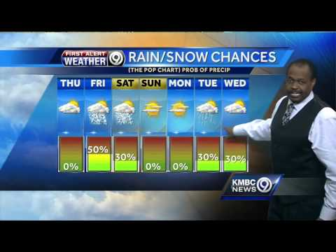 Warmer temperatures move in, but snow chances remain