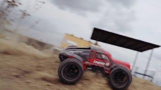Exceed Racing Legion 10 Monster Truck in Action!