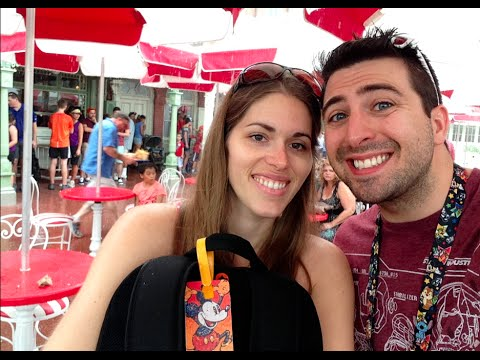 Walt Disney World's Magic Kingdom Vlog - June 30 - WDW Honeymoon Vacation 2014
