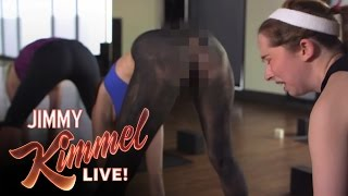 Spray On Yoga Pants from Lululemon