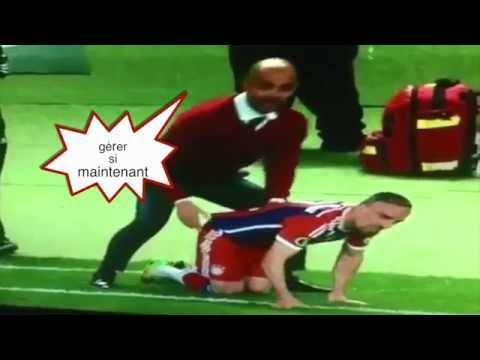C'est pourquoi Ribéry a des problèmes de dos