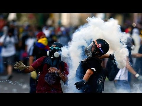 Venezuela faces violent protests almost a year after death of Chavez