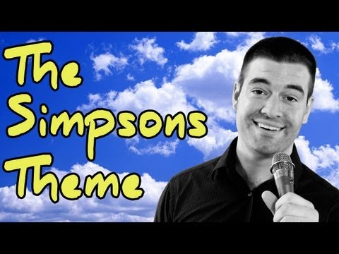 The Simpsons Theme Song (Vocal Cover) AS HEARD ON THE SIMPSONS!!, AS FEATURED ON THE SIMPSONS!! Seasons 23, Episode 15 Ending Credits I'm on iTunes! http://itunes.apple.com/us/artist/nick-mckaig/id472389484 This is my tribu...