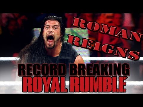 Roman Reigns dans le Royal Rumble 2014