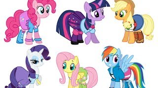 Drawing My Little Pony: Equestria Girls Outfits
