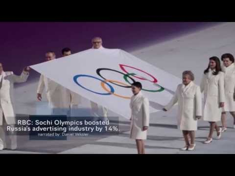 Russia's advertising industry grew 14% during Sochi Olympics