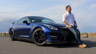 Nissan GT-R Black Edition 2013 Review & Test Drive with Ross Rapoport by RoadflyTV videos