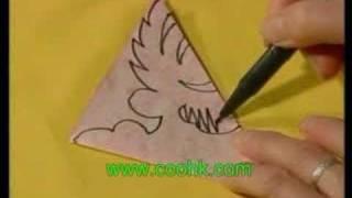 גזירת נייר פרח