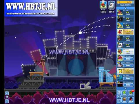 Angry Birds Friends Tournament Level 1 Week 70 (tournament 1) Rock in Rio no power-ups