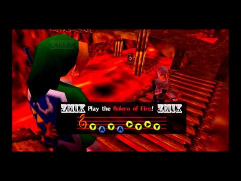 ZMiX - Bolero Of Fire (Dubstep Remix) * Zelda Ocarina Of Time *