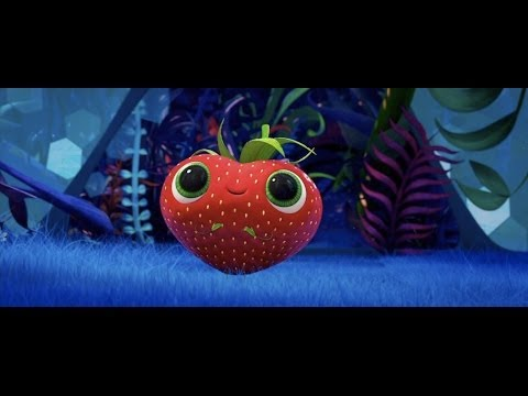 Cloudy With A Chance Of Meatballs 2 Cute Strawberry Scene HD