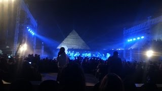 Yanni's Live concert at the Pyramids of Egypt