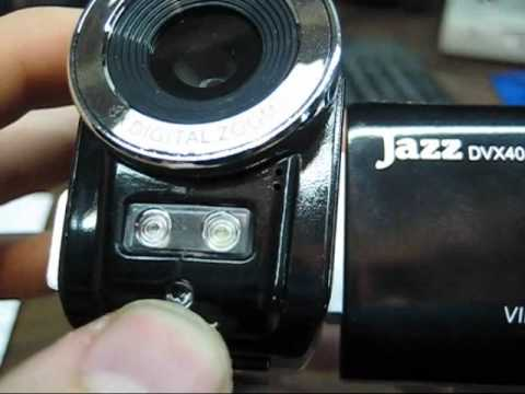 Jazz DVX40 Camcorder Review