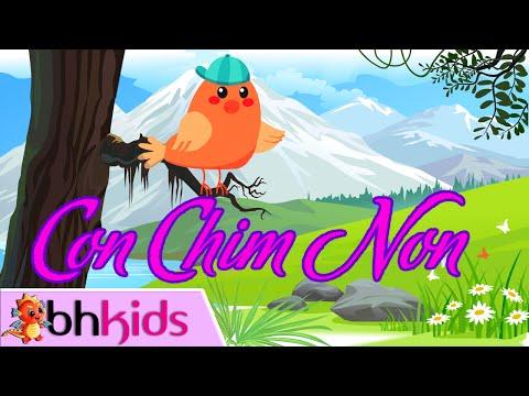 Con Chim Non Trên Cành Cao Hót Véo Von | Bé Tập Hát