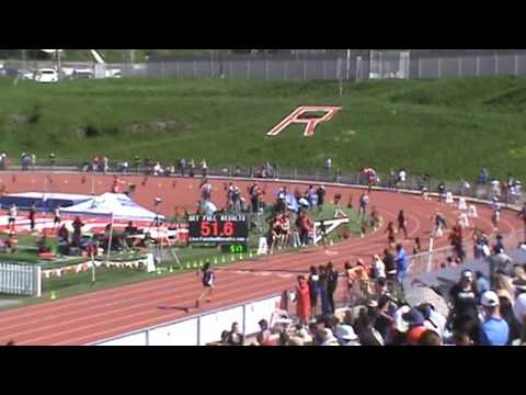Redondo Invitational: Girls 4 x 100 Heat 3