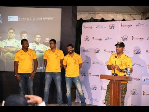 Chennai Super Kings - UST Global Meet & Greet Event, Bangalore ( 23 May 2014)