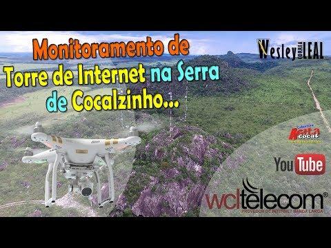 Parque Estadual dos Pirineus em: 25/02/2018 (Torre WCL Telecom) - Phantom 3
