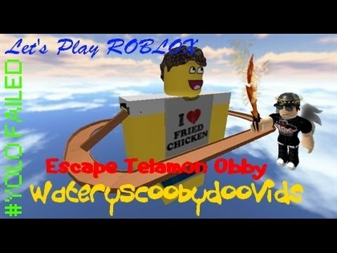 Let's Play ROBLOX - Escape Telamon Obby!
