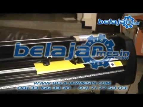 Cutting Plotter Jinka - Mesin Cutting Sticker (seri tutorial www.belajarmesin.com)