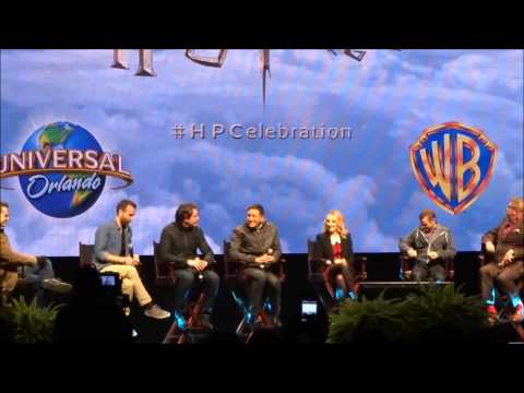 Complete Cast 2014 Harry Potter Celebration James & Oliver Phelps, Evanna Lynch,  Matthew Lewis