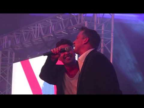 Joe McElderry  & Darren Gough - The Climb - Soldiering On Awards