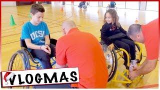 VLOGMAS 10 : Les enfants en fauteuils roulants ! Pourquoi ?