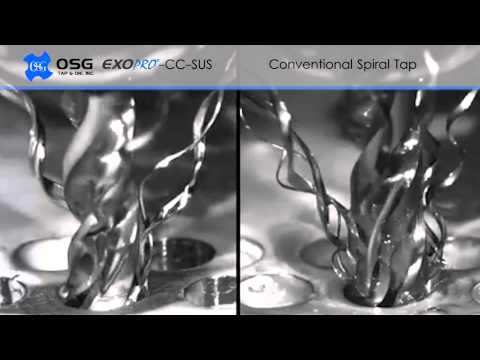 OSG EXOPRO®-CC-SUS: The Art of Chip Forming