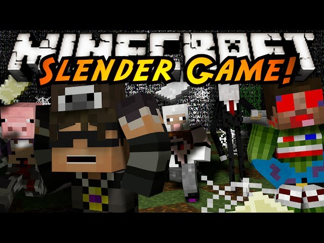 Minecraft Mini-Game : SLENDER?!