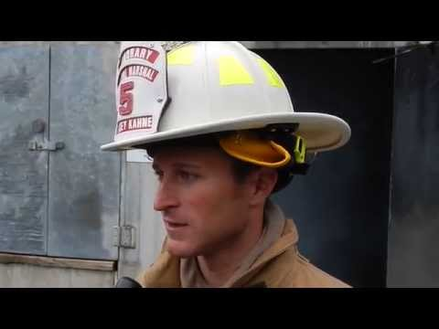 NASCAR's Kasey Kahne gets crash course in firefighting