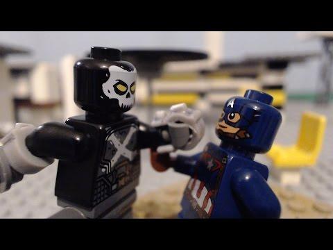 LEGO Captain America Civil War: Avengers Vs Crossbones FULL ACTION SEQUENCE