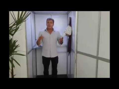 Vídeo Brasileiro cria banheiro seco portátil que pode substituir banheiros químicos