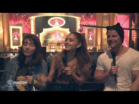 Ariana Grande Talks About Songs To Have Sex To! (Plus sings Frank Ocean)