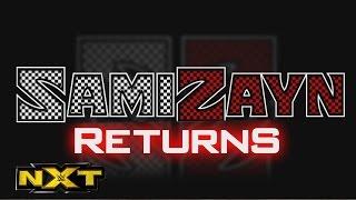 Sami Zayn is returning to NXT: WWE NXT, Nov. 25, 2015