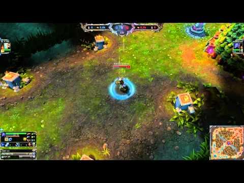 [30.6.2014] Liên Minh Huyền Thoại - Faker vs Dade [Solo Mid] ( Trận 2 )