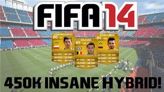 FIFA 14 Ultimate Team 450k Insane Hybrid Squad Builder