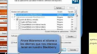 Como Instalar Idioma En Nuestro Blackberry En Menos De 3