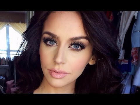 Romantic Matte Brown Smokey Eye: Valentine's Day!