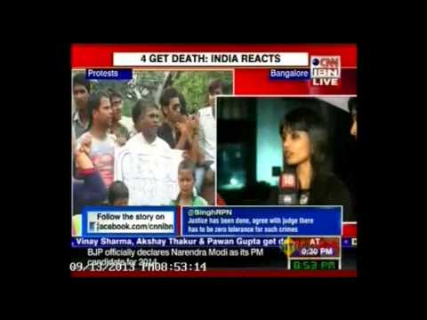 Tesco HSC Women Colleagues Share Crime Verdict Perspectives On CNN-IBN, 13 September, 2013